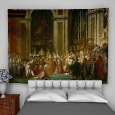 Napoleon Painting Wall Hanging Tapestry Psychedelic Bedroom Home Decoration
