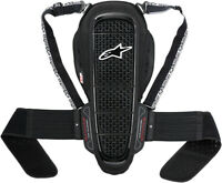 Black//White Alpinestars Mens Nucleon KR-HR Motorcycle Hip Protector Small