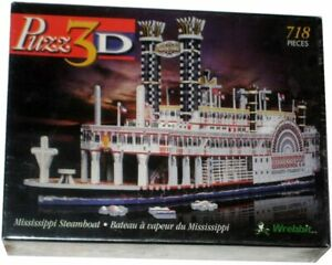 Puzz3D Mississippi Steamboat