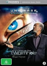 Into The Universe With Stephan Hawking / Through The Wormhole (DVD, 2012, 3-Disc