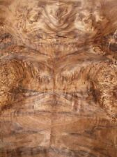 Nußbaum Wurzelholz Furnier Maserholz W 90x42/43cm 2 Blätter
