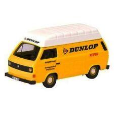 SCHUCO Volkswagen T3 Kasten Van Dunlop (Yellow) 1/87 HO Scale Diecast Model NEW!