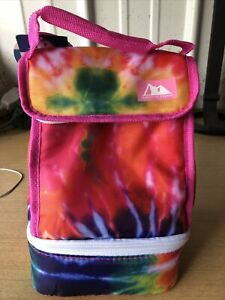 NEW Arctic Zone Insulated Tie Dye Lynch Bag Box 2 Compartment Microban NWT
