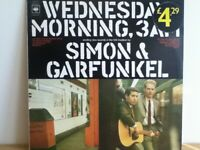 SIMON  &  GARFUNKEL           LP      WEDNESDAY  MORNING  3  A.M