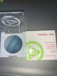 Mary Kay At Play Baked Eye Trio - Ocean View NEW IN BOX Discontinued