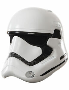 Stormtrooper-Helm für Erwachsene Star Wars-Lizenzartikel weiss-schwarz