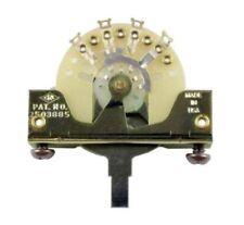 Genuine CRL 5 Way Pickup Selector Switch For Fender Strat Tele Guitar Custom