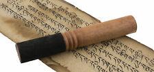 Baton Bois et Cuir Ø 28mm L 18 cm pour Bol Chantant ou gong tibetain 26752 B14