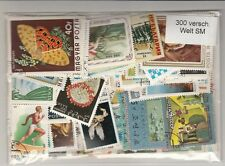 300 verschiedene Briefmarken nur Sondermarken aus aller Welt