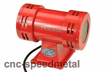 Sirene 230V Motorsirene Alarm elektrisch 113 dB Fanfare