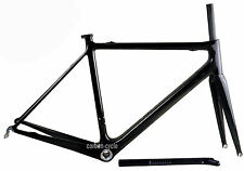 850g Carbon Frameset fork Road Bike Di2 UD glossy Race Bicycle Part 56/58/60cm