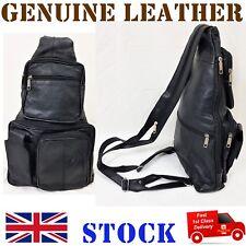 Ladies Leather School College Carry Bag Rucksack Backpack Hand Bag Shoulder