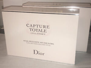 Dior Capture Totale CELL Energy Super Potent Serum Creme Lotion Eye Gift Set