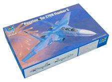 Trumpeter 9361645 Suchoi Su-27UB Flanker C 1:72 Kampfflugzeug Modellbausatz