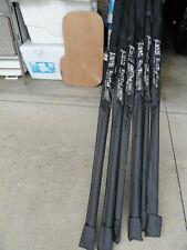 "Jaws Big Game Stand-up Fishing Rail Rod 7'3"" 60~130lb W/Cover & Fuji Hbsg Guides"