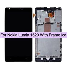 OEM Nokia Lumia 1520 LCD TOUCH SCREEN Digitizer & Display Assembly Frame & UK