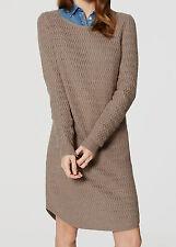 NWT Ann Taylor LOFT Textured Knit Sweater Dress Size S