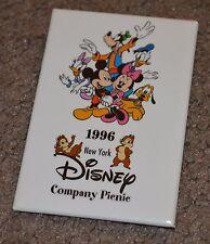 Vtg Disney New York 1996 Company Picnic Pin Cast Member