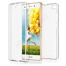 Mnm distrib Huawei P9 Lite Coque Silicone Gel Intégrale Transparent