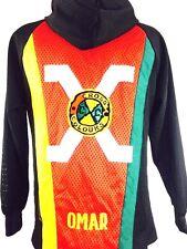 Vintage Cross Colours Jacket Hip Hop 90s MALCOLM X Black Panthers Rap 2 Pac NWA
