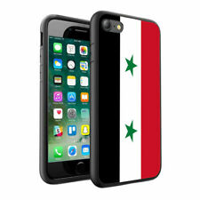 Syria Flag Printed Design Hard Skin Case Cover for Various Phone Models - 0171