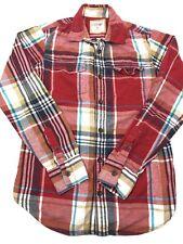Urban Pipeline Mens Medium Flannel Chest Pockets Multicolor Shirt (P!)