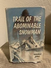 Trail of the Abominable Snowman by Gardner Soule 1966
