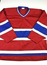 Contak Blank Hockey Jersey Sz XL Practice NHL Capitals Montreal Rangers panthers