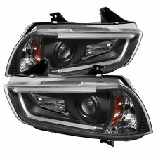 Spyder 5074188(PRO-YD-DCH11-LTDRL-BK) Projector HeadLights For Dod.Charger 11-14