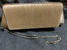 Clutch Purse Evening Bag Gold Lamay Couture Shoulder Strap Daniel Ames