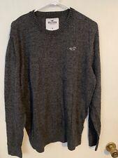 Hollister Sweater - Size XL - Gray - Long Sleeve - Crew Neck - Lightweight
