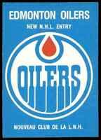 1979-80 O-Pee-Chee Edmonton Oilers Team Logo . #82 Rare