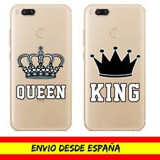 Funda Movil Case Xiaomi Pocophone King Queen Corona Carcasa Cover Dibujo