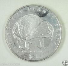 New listing Liberia Commemorative Coin $1 Almost Unc, Preserve Planet Earth, Protoceratops