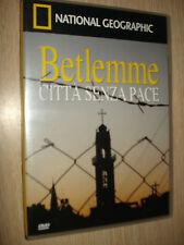 DVD N°70 BETLEMME CITTA´ SENZA PACE SOTTO ASSEDIO TERRA GESU NATIONAL GEOGRAPHIC