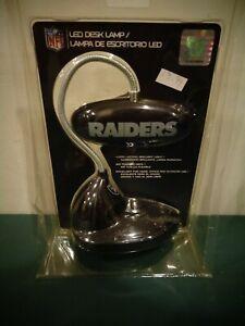 NFL FOOTBALL RAIDERS LED DESK LAMP LIGHT