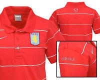 New NIKE ASTON VILLA Football Polo Shirts Cotton Red M