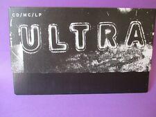 "DEPECHE MODE Ultra ORIGINAL 1997 UK PROMO SHOP DISPLAY CARD 11""x7"" Mute (poster)"