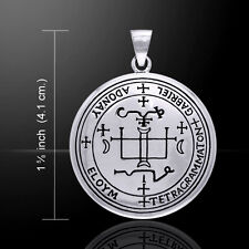 Sigil of the Archangel Gabriel .925 Sterling Silver Pendant by Peter Stone