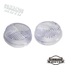 2x Motorcycle Turn Signal Light Lens Cover For Honda Valkyrie 2001-2003 Clear