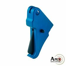 Apex Tactical Blue S&W M&P Shield Flat-Faced Action Enhancement Trigger 100-147
