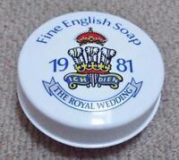 1981 Charles & Diana Royal Wedding Commemorative Morny Fine English Soap