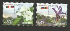 Portugal 2016 - Joint Issue Philippines - Flowers set MNH