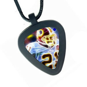 Washington Redskins Sean Taylor Pickbandz Mens Womens Real Guitar Pick Necklace