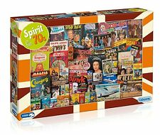 GIBSONS SPIRIT OF THE 70s - 1000 PIECE JIGSAW PUZZLE, STAR TREK, CONCORDE & MORE