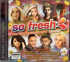 Hits Autumn 2016 (CD & DVD) Ellie Goulding/Justin Bieber/Elle King/Selena Gomez
