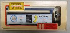 Vintage HO Railroad Kits & Accessories by Train Miniature, Blue trim New Jersey