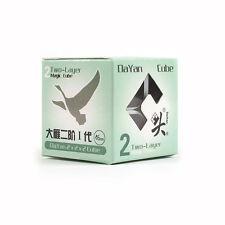 New Dayan Zhanchi 46MM White 2x2x2 Magic Cube 2x2 Puzzle Spring Speed Rare