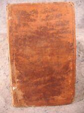 rare antique old leather book 1779 Aesopian Fables Phaedrus english latin