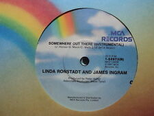 """Linda Ronstadt & James Ingram """"Somewhere Out There"""" 7"""""""